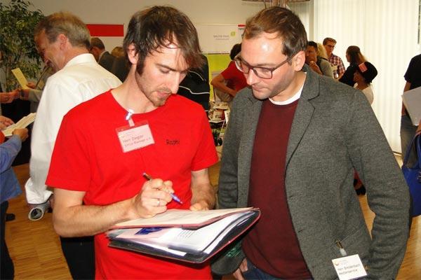 Auch der Kameramann Timo Breidenbach schaffte es, zwei Vereinbarungen mit dem ircus Blamage zu treffen.