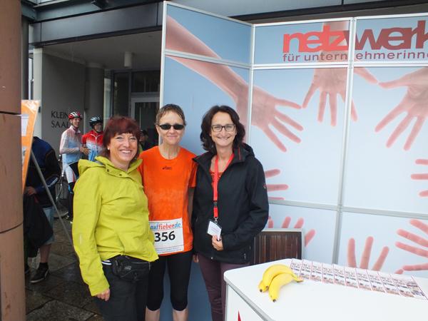 Mitgliedsfrauen Birgit Hurrelbrink (Physiotherapie) Dorothea Bornemann (Fotografie), Snezana Galijas (Werbetext und PR)